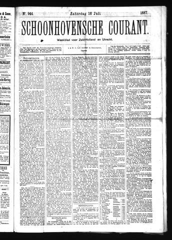 Schoonhovensche Courant 1887-07-16