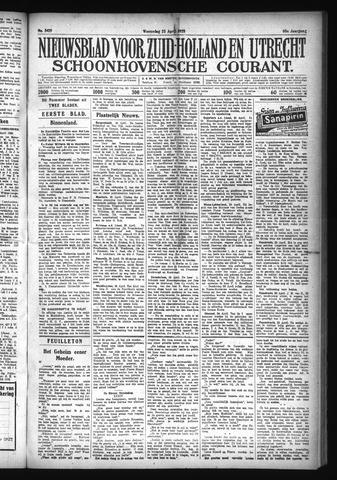 Schoonhovensche Courant 1928-04-25