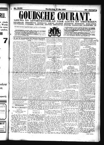 Goudsche Courant 1927-05-19