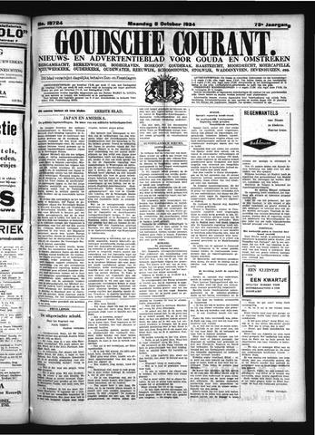 Goudsche Courant 1934-10-08