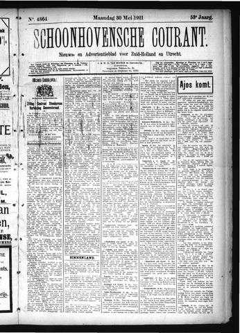 Schoonhovensche Courant 1921-05-30