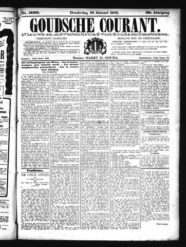 Goudsche Courant 1918-01-10