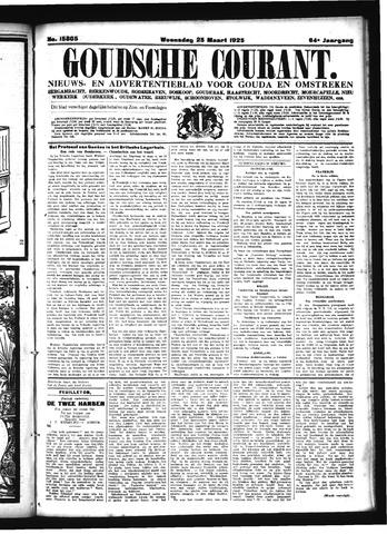 Goudsche Courant 1925-03-25