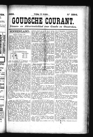 Goudsche Courant 1885-10-23
