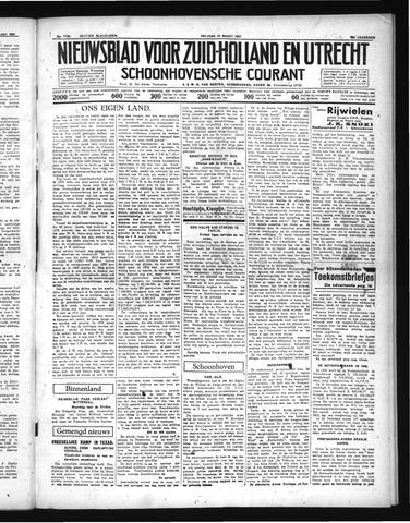 Schoonhovensche Courant 1937-03-19