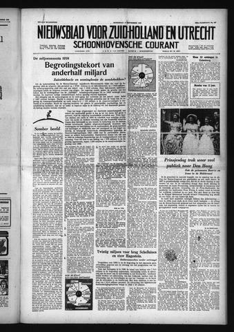 Schoonhovensche Courant 1958-09-17