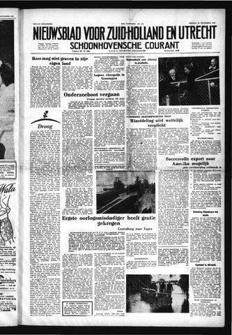 Schoonhovensche Courant 1952-09-26