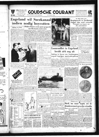 Goudsche Courant 1957-03-22