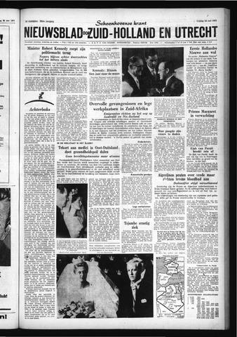Schoonhovensche Courant 1961-05-26