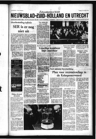 Schoonhovensche Courant 1970-11-13