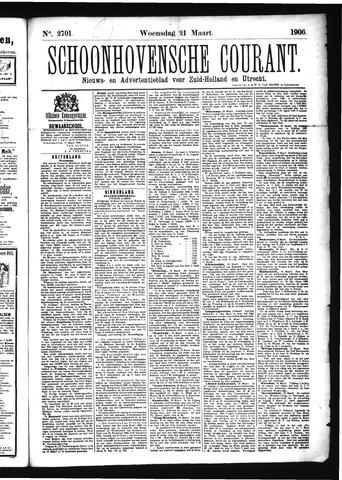 Schoonhovensche Courant 1906-03-21