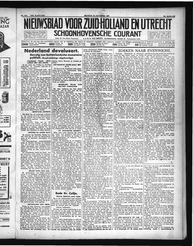 Schoonhovensche Courant 1936-09-28