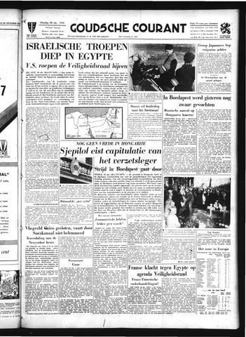 Goudsche Courant 1956-10-30