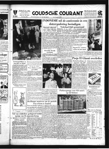 Goudsche Courant 1956-01-24
