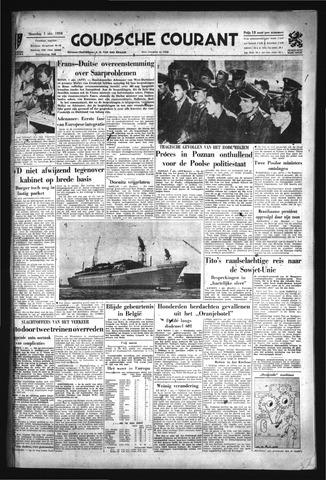 Goudsche Courant 1956-10-01