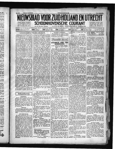 Schoonhovensche Courant 1938-01-14