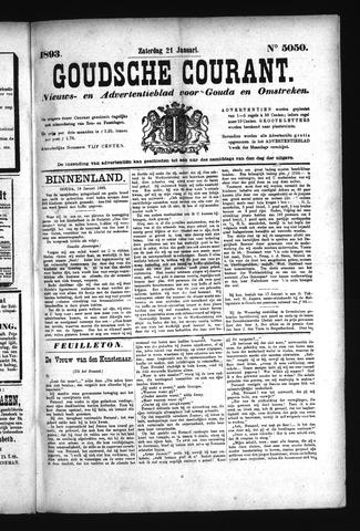 Goudsche Courant 1893-01-21