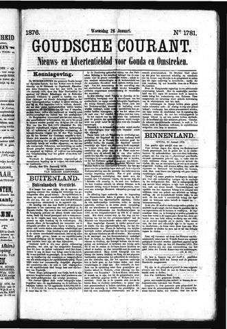 Goudsche Courant 1876-01-26