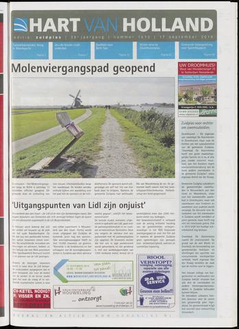 Hart van Holland - Editie Zuidplas 2014-09-17