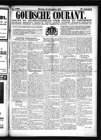 Goudsche Courant 1931-12-22