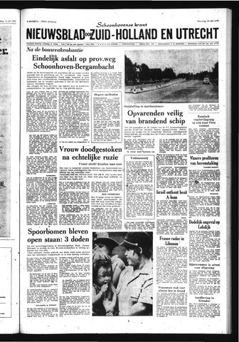 Schoonhovensche Courant 1970-07-20