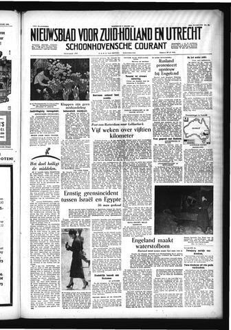 Schoonhovensche Courant 1955-03-02
