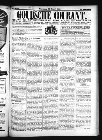 Goudsche Courant 1933-03-22