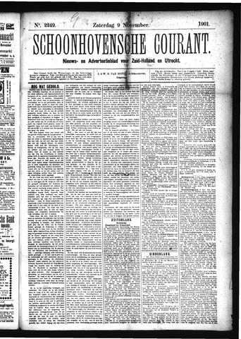 Schoonhovensche Courant 1901-11-09