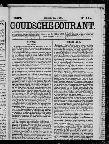 Goudsche Courant 1869-04-25