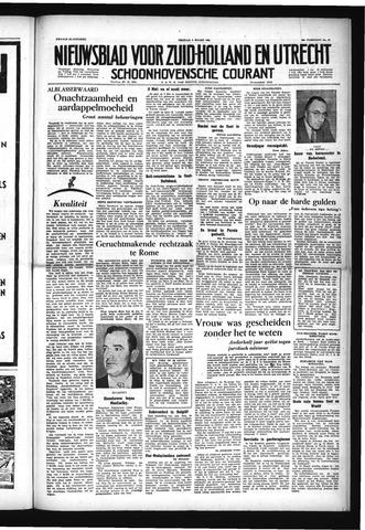 Schoonhovensche Courant 1954-03-05