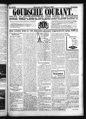 Goudsche Courant 1937-02-27