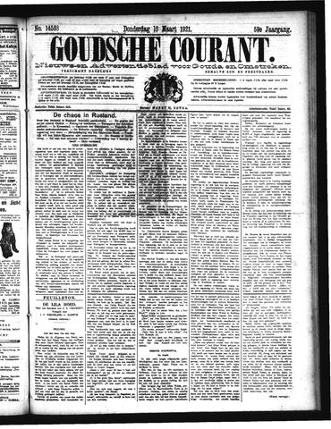 Goudsche Courant 1921-03-10