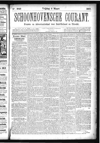 Schoonhovensche Courant 1917-03-02