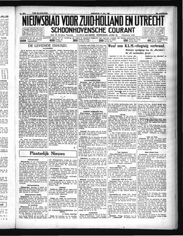 Schoonhovensche Courant 1935-07-17