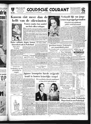 Goudsche Courant 1959-04-10