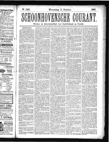 Schoonhovensche Courant 1893-10-11
