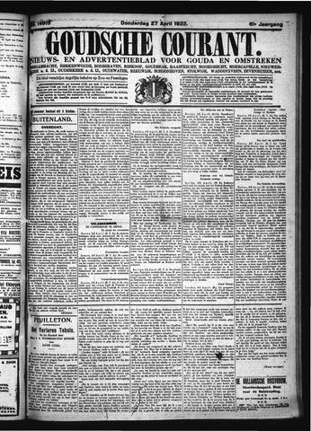 Goudsche Courant 1922-04-27