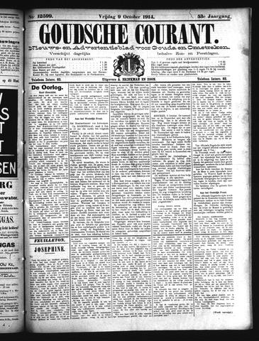 Goudsche Courant 1914-10-09