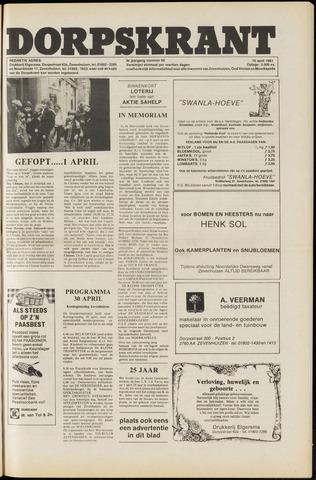 Dorpskrant 1981-04-10