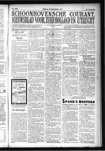 Schoonhovensche Courant 1927-09-23