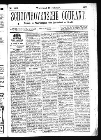 Schoonhovensche Courant 1906-02-14