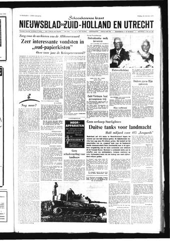 Schoonhovensche Courant 1968-10-25