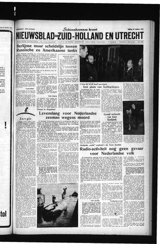 Schoonhovensche Courant 1961-10-27