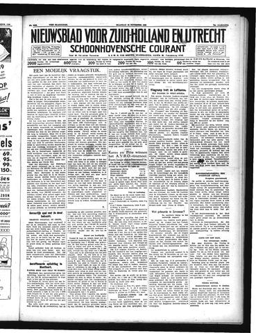 Schoonhovensche Courant 1938-11-28