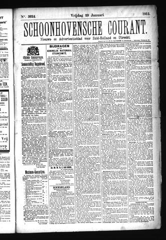 Schoonhovensche Courant 1915-01-29