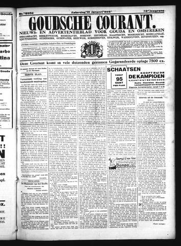 Goudsche Courant 1935-01-12
