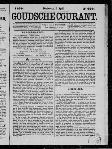 Goudsche Courant 1868-04-09