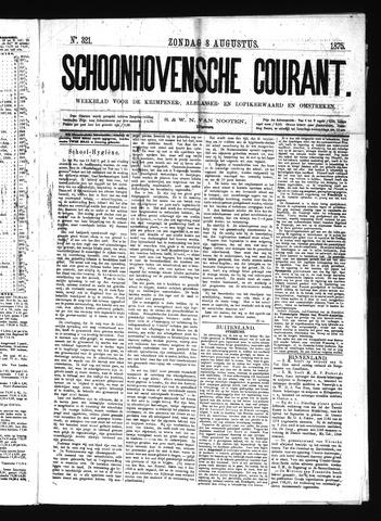 Schoonhovensche Courant 1875-08-08