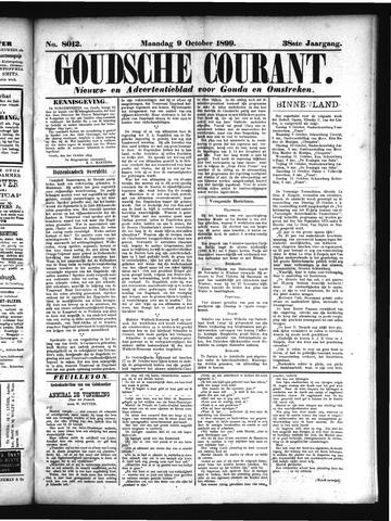 Goudsche Courant 1899-10-09