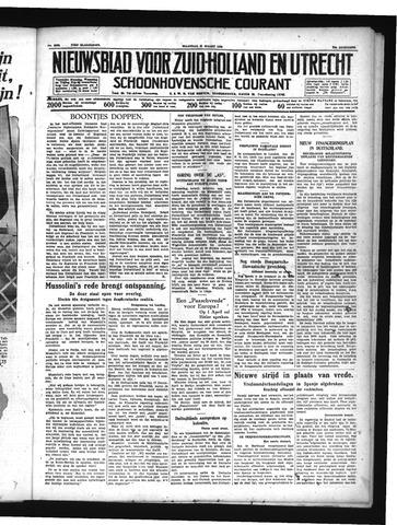 Schoonhovensche Courant 1939-03-27
